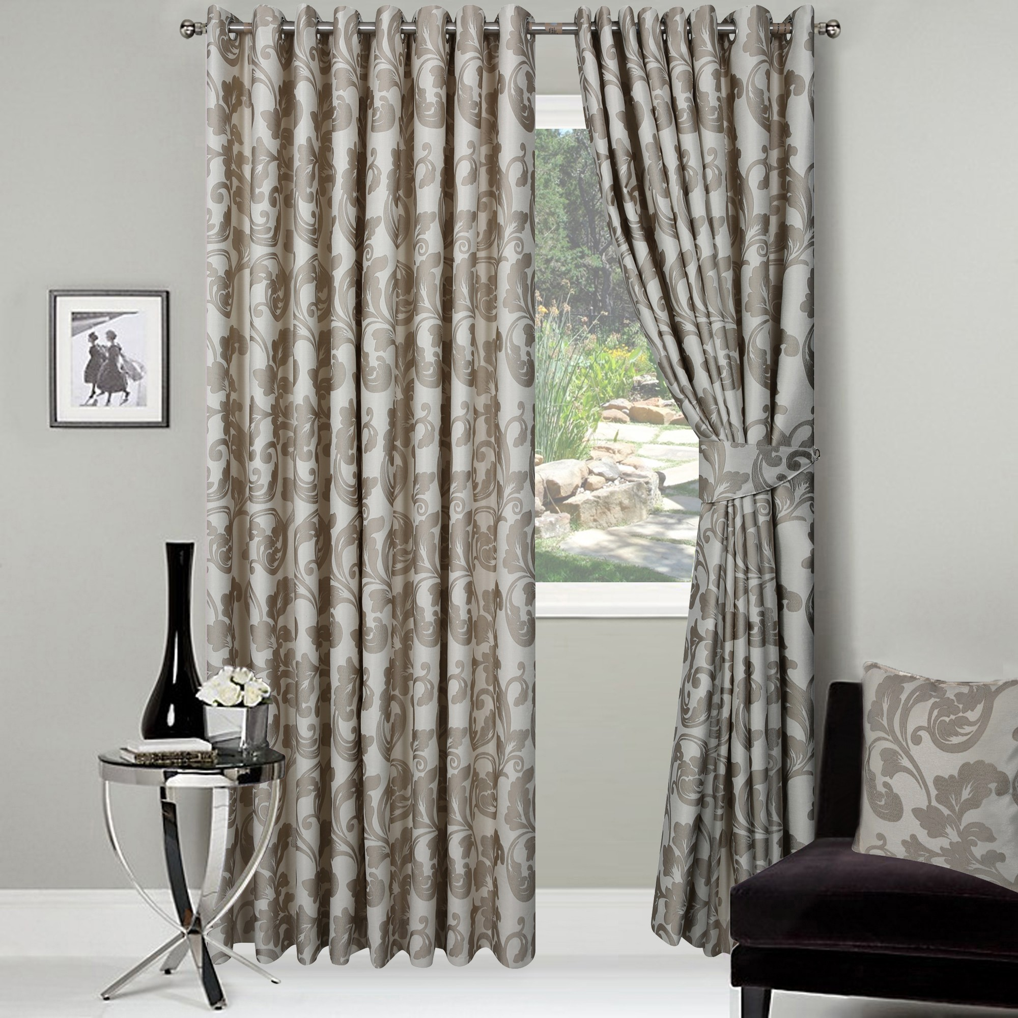 out and curtain of sheer up blackout light wide to extra rays set pin includes white features panels uv curtains block