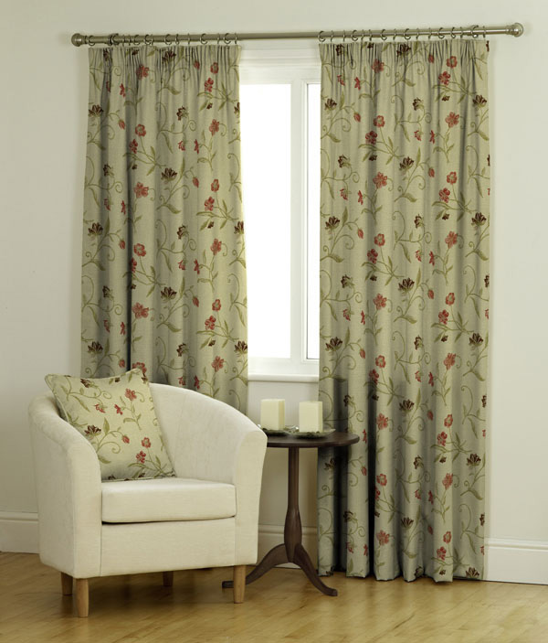 Charlotte Ready Made Jacquard Curtains