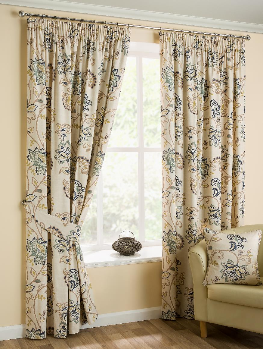 Jacobean Ready Made (Jacquard) Curtains