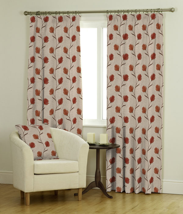 Leela Ready Made Jacquard Curtains