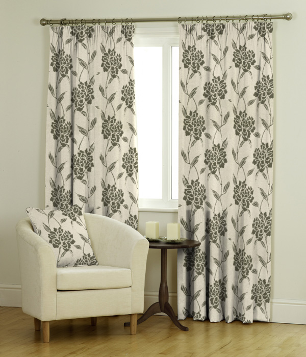 Lexi Ready Made Jacquard Curtains