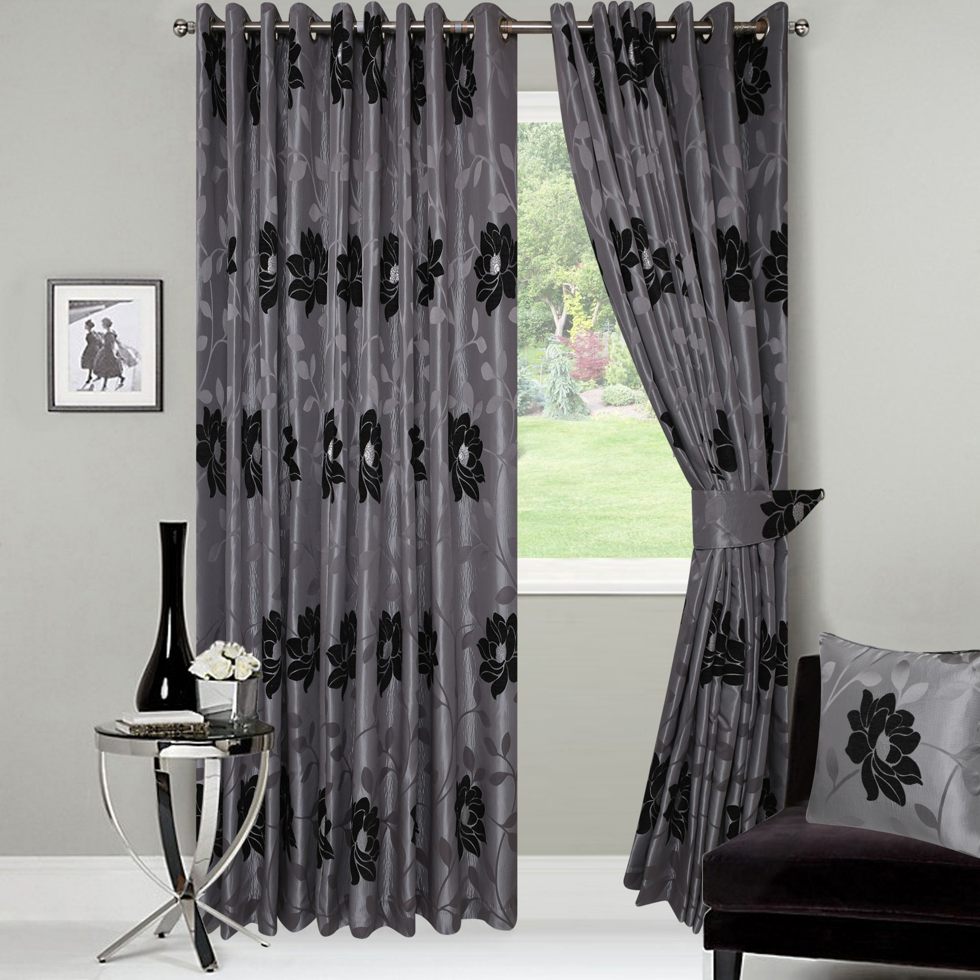 Madrid Ready Made Jacquard curtains