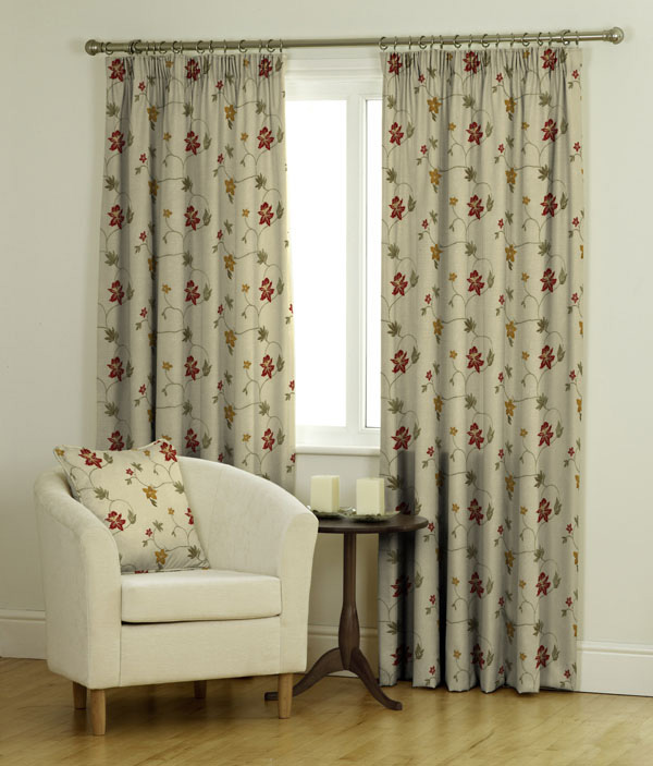 Milly Ready Made Jacquard Curtains
