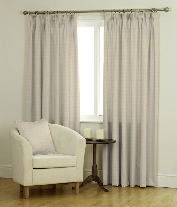 Raffia Ready Made Jacquard Curtains