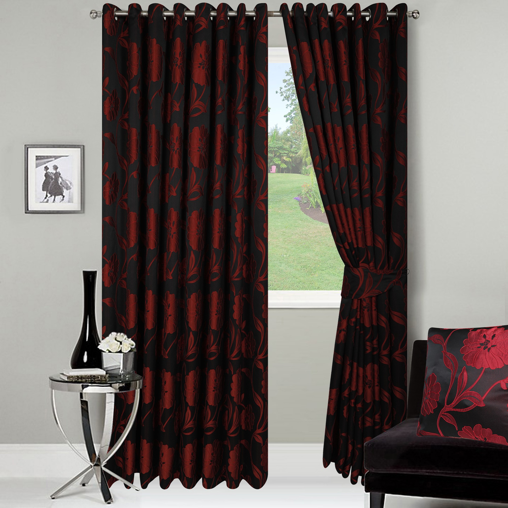 Royal Ready Made Jacquard Curtains.