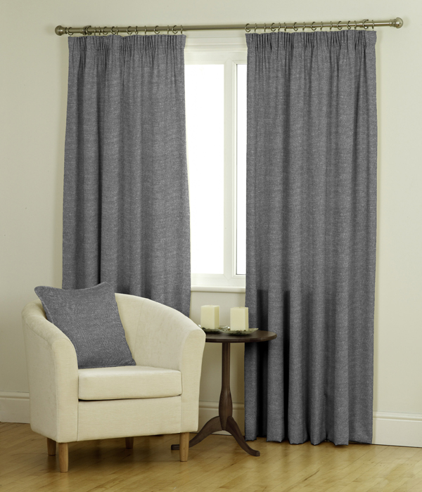 Shadow Ready Made Jacquard Curtains