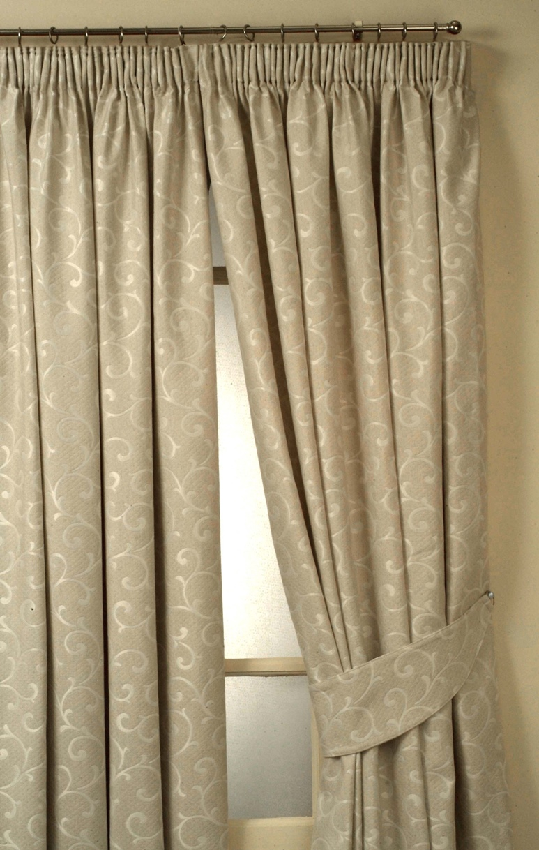 Long Wide And Bay Window Curtains Providing Hard To Get
