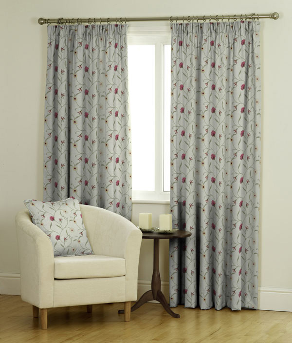 Leanne Ready Made Jacquard Curtains